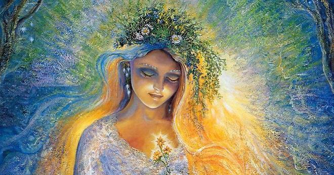 Bohyně Lada v slovanské mytologii - jak se modlit bohyni lásky a krásy?