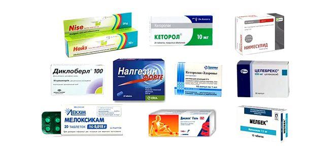 Нестероидни противовъзпалителни средства (НСПВС)
